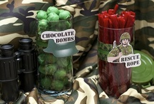 Camouflage Party Ideas