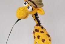 crochet toys and novelty