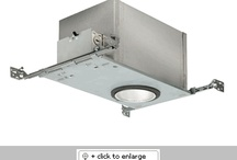 """Juno 4"""" Housings & Trims / Juno Residential Housing & Trims - Recessed Lighting - Modern Recessed Light Trims & Housings -  LED, Line Voltage, Low Voltage, Compact Fluorescent, Architectural (HID), Slope Ceiling, LED & Designer Recessed Lights - VGKLighting / by VGK Lighting"""