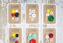 Button Card Printables