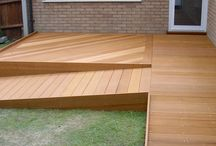 deck for shed