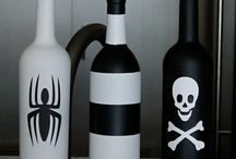Decorative Wine Bottles - DIY
