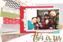 We Are Made of Stories: Scrapbook Circle December 2014 Kit