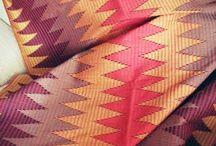handwoven batik and tenun