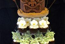 Hawaaiin Cakes & Cupcakes