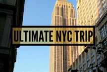 ULTIMATE NYC TRIP! / New York City holds a very special place in our hearts. I (Laura) went on a trip there for my 21st birthday, and the magic of the city sparked my wanderlust which essentially led to our life of travel! It's our number one dream to return to New York City together. Here is what we would do on our Ultimate New York City trip - which should give you some ideas for your ultimate NYC trip too!!