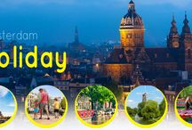 Cheap Flights to Amsterdam / Offers and great deals on Cheap Flights to Amsterdam can be availed by booking with Holidaymood. We provide Cheap Tickets to Amsterdam from all the leading airports in UK. So book your Amsterdam Flights now!