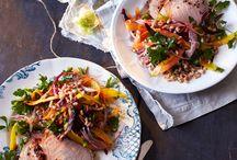 Pork recipes / by Jenny Bloomfield Sciara