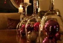 Verres boule de Noël