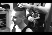 Girls shaved their hair for first time