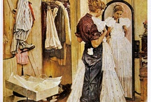 Norman Rockwell Forever / My favorite illustrator : so poetic so realistic and so true / by Karine Robin