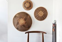 African Art in Homes / Decorate your home with beautiful African art. www.africaandbeyond.com.