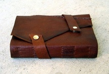 leather books etc