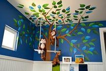 Kinderzimmerwandideen