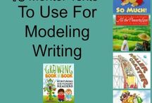 Using mentor texts / by Laura Carlson