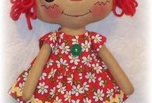 poupée en chiffon / dolls