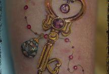 tatuaggio chiave