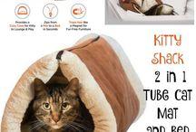 kočky pelechy