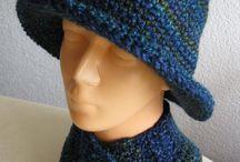 Hüte, Mützen, Sets / #Hüte und #Mützen im Set mit #Kragenschal und #Stirnband. 2 Teile oder 3teilig.