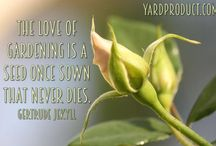 The Quote Garden / A collection of #gardening #quotes that will give you some #inspiration in your life!