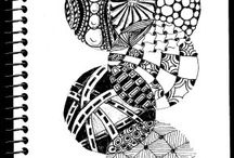 Zentangle pins / by Jeanette Heming