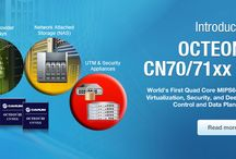 CAVIUM OCTEON Multi-Core Processor Family / Cavium OCTEON family of Multi-Core MIPS64 processors is the industry's most scalable, highest-performance, and lowest-power solution for intelligent networking applications ranging from 100Mbps to 200Gbps.