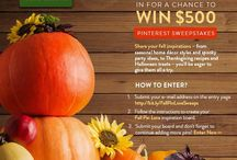 BHGRE® Fall Pin Love / Fall in love with your home again this season! Create your fall decor and entertaining inspiration board and enter the #BHGRE #FallPinLoveSweeps for your chance to win $500. / by Irina K