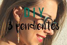DIY ~ Accesorios / Aprende a fabricar tus propios accesorios DIY con estos tutoriales paso a paso. ¡Inspírate y atrévete a realizar tus propios diseños! Todos los tutoriales los puedes encontrar en mi blog www.looksanddiy.com