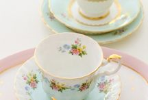 Tea time, tea cups