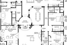 Floor Plans / Floor Plans that caught my eye.  You never know when we might decide to build again! / by Merisa Eavenson