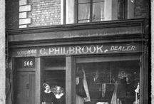 566 Kings Road / This was our shop in the 50's. It has changed a little.