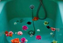 Flowers In Baths...