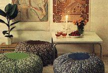 70's interiors / 70's