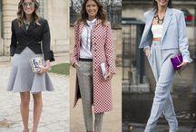 Street fashion.