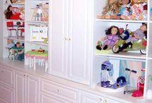 American Girl Storage Basement