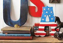 July 4th / July 4th Décor and food