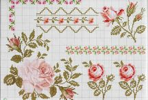 cross stitch - floral / by M. Hilke