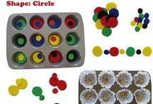Preschool and Kindergarten Math Activities