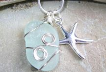 Seaglass / Shell Jewelry ideas