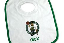 Boston Celtics Baby Gifts / Personalized Baby Gifts For Fans Of The Boston Celtics NBA Basketball Team.