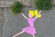 Natural art/Street art