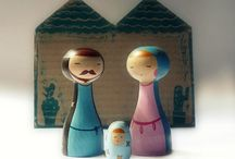Nativity Scenes  / by Helen Sneddon