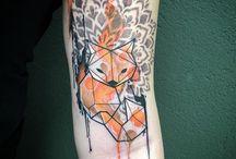 Geometric and Graphic Tattoo's