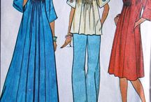 Vintage Sewing Patterns  / by Ava Kwinter