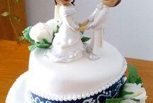 bryllupskake idéer