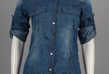 Camicie e tute donna Jeans vintage