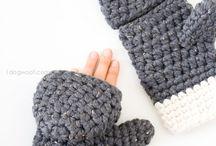 Crochet pattern - gloves