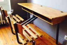 Restauration de petit mobilier chiné / Toute la sélection  de petits mobiliers restaurés sur  www.lesfaiseurs.fr