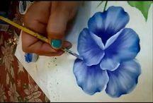 yağlı boya çalışmaları