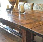 DIY , FARMHOUSE TABLE